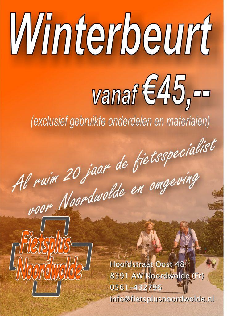 Winterbeurt Al vanaf €45,--